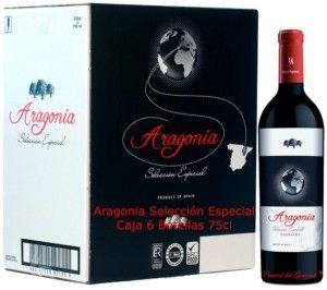 Aragonia Selección Especial Garnacha 100 % vino tinto Reserva de Coto de Hayas D.O. Campo de Borja Caja 6 botellas 75cl