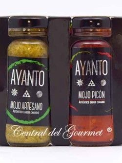 Mojo Rojo y verde Picon Canario artesano AYANTO