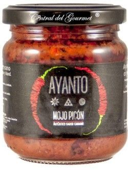 Mojo Rojo Picón Canario artesano AYANTO , tarro 212 ml
