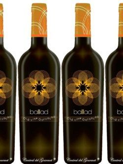 Vino Gourmet Ballad old vine white Garnacha 2016 Caja