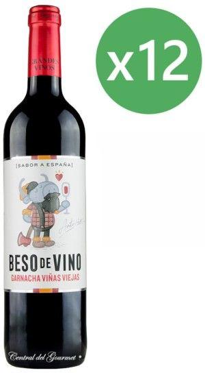 Beso de Vino Garnacha Viñas Viejas 2017 caja