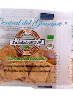 Regañas Gourmet ecologicas integrales trigo con sésamo La Extranatural 20