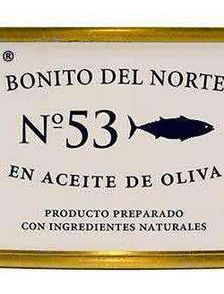 Bonito del Norte Gourmet Aceite de Oliva La Brújula 1850