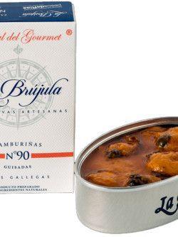 Cooked Scallops La Brújula  Gourmet