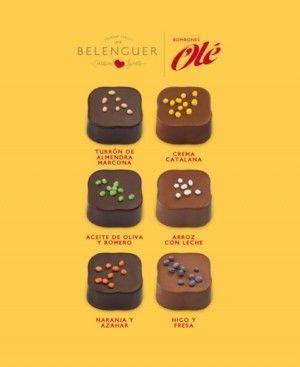 Caja Amarilla Bombones Gourmet