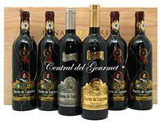 Cajas de vino, cava, licores
