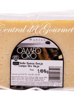 Aged cheese Gourmet pure Sheep Campo Oro Marsan