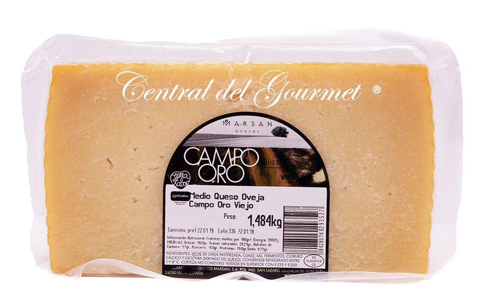 8de3d6e4a Comprar Aged cheese Gourmet pure Sheep Campo Oro Marsan 1,45 kg ...