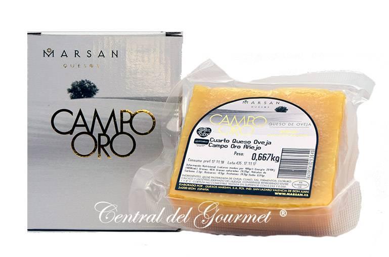 d0568857d Comprar Queso Añejo Gourmet Campo Oro de Marsan puro Oveja, cuña de ...