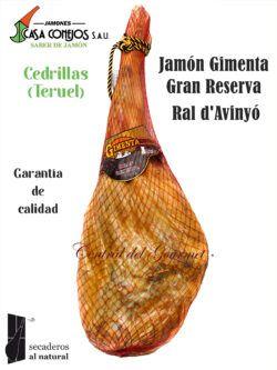 Jamón Ral d'Avinyó Gran Reserva Gimenta Casa Conejos Teruel