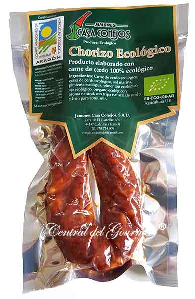 Chorizo Ecológico Gourmet Casa Conejos