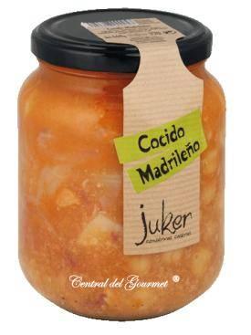 Cocido madrileño Juker, tarro 720gr