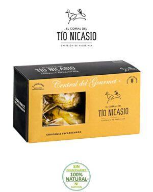 Codorniz Escabechada Gourmet Corral Tío Nicasio 2-codornices
