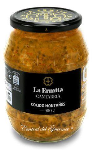Cocido montañés gourmet La Ermita