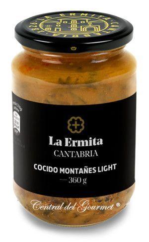 Cocido montañés light gourmet La Ermita