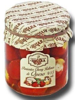 Conservas Rosara of Cherry Peppers stuffed Cheese