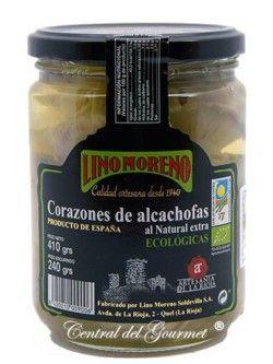 Corazones de Alcachofas Ecológicas Gourmet Lino Moreno