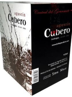 Wine Bag in Box white young 2017 DO Calatayud Cubero