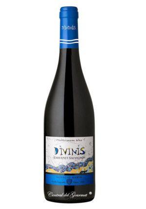 Divinis vino tinto Cabernet Sauvignon 2016
