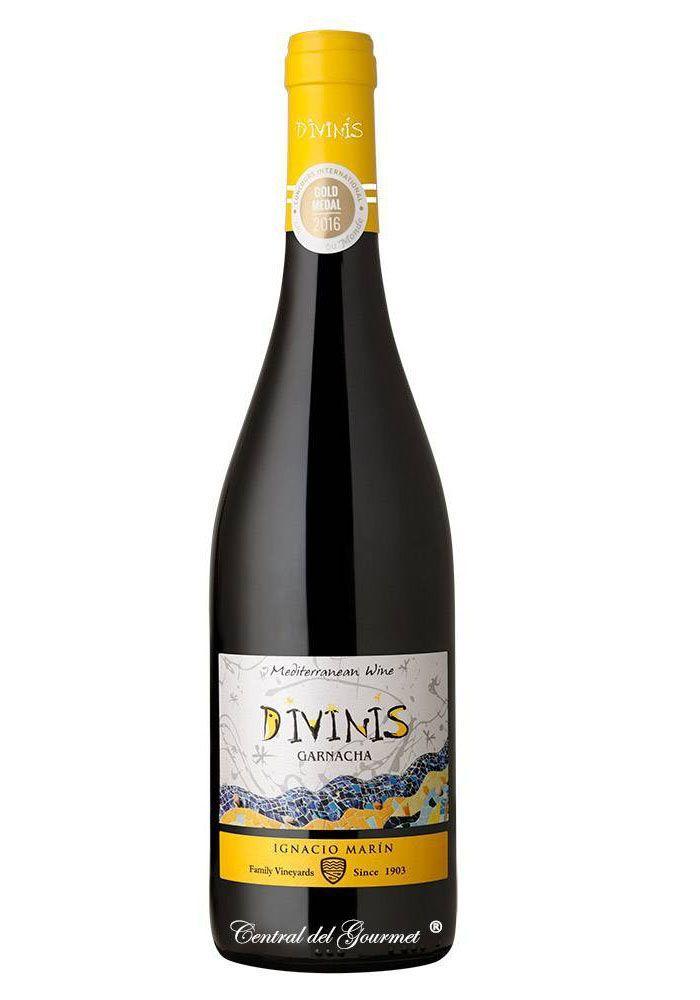 Divinis vino tinto Garnacha 2016