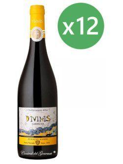 Divinis vino tinto Garnacha 2016 Caja 12 botellas 75 cl
