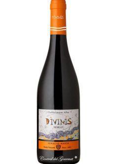 Divinis vino tinto Merlot 2016