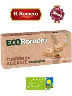 Turron ecologico de Alicante Suprema