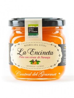 Mermelada casera de Piña con viruta de naranja La Encineta