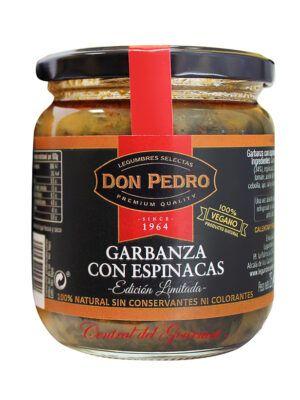 Garbanza con Espinacas Gourmet Don Pedro 325gr