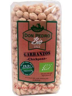 Garbanzo lechoso andaluz ecologico Don Pedro