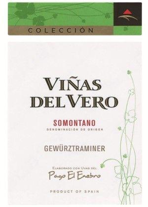 Gewurztraminer 2015 Viñas del Vero etiqueta