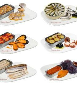 Gourmet Canned Fishs and Seafood