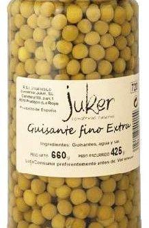 Juker Guisantes Fino Extra tarro 720gr