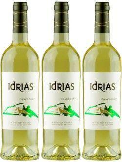Vino ecológico Idrias Chardonnay 2018 Caja