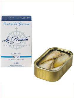 Sardinas Gourmet La Brújula 3/4