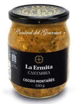 Cocido montañés gourmet La Ermita 550gr