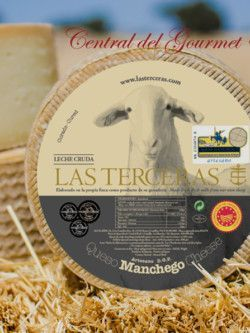 Queso Manchego Artesano Curado leche cruda oveja Las Terceras