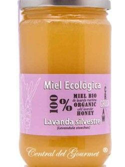 Organic Honey Raw Gourmet Lavender Verdemiel