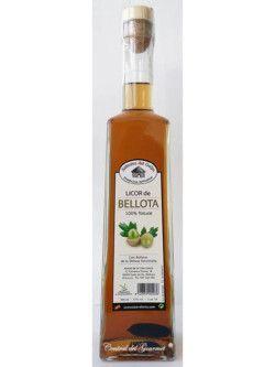 Licor de Bellota 100 % natural, artesano de Sabores del Guijo, botella 500ml