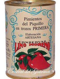 Pimientos del Piquillo Gourmet trozos Lino Moreno