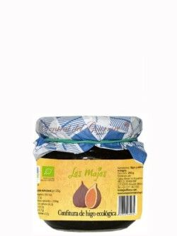 Confitura de higo ecológica artesana, los Majos tarro de 250 gr
