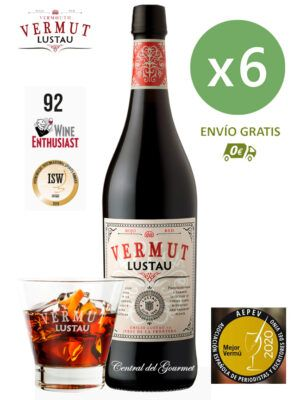 Lustau Vermut Rojo caja