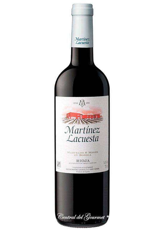 Martinez Lacuesta Rioja red wine harvest 2016