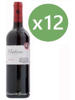 Matices de Coto de Hayas, Vino Garnacha 100 % D.O.Campo Borja Caja 12 botellas 75 cl