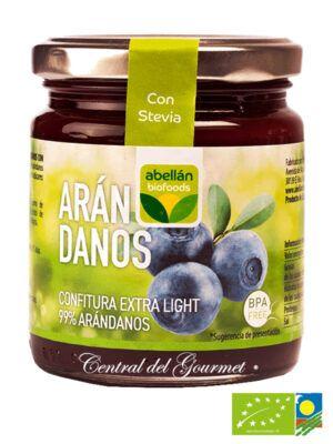 Mermelada de Arandanos ecologica 99% fruta sin azucar