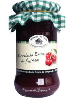Mermelada de Cereza Extra artesana de Sabores del Guijo, tarro 400ml