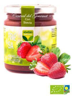 Mermelada de Fresa ecologica 99% fruta sin azucar