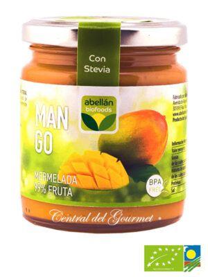 Mermelada de Mango ecologica 99% fruta sin azucar