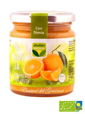 Mermelada de Naranja ecologica 99% fruta sin azucar
