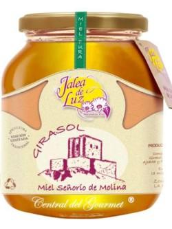 Miel de Girasol pura artesana Jalea de Luz, tarro 950gr